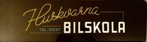 gammal logo huskvarna trafikskola